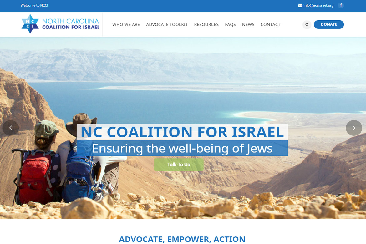 North Carolina Coalition for Israel - Chapel Hill, NC