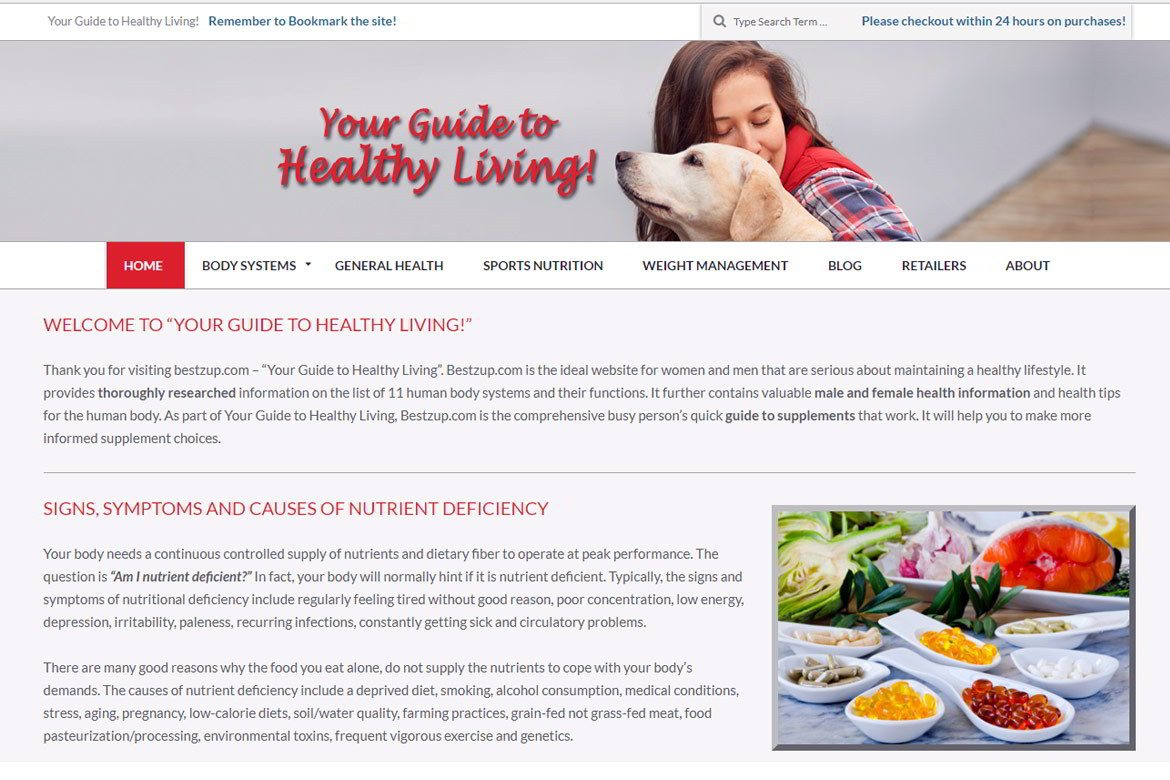 bestzup.com – Your Guide to Healthy Living